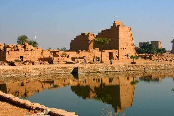 antigüedad templos de Karnak