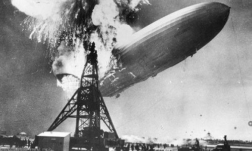 dirigible zeppelin hinderberg