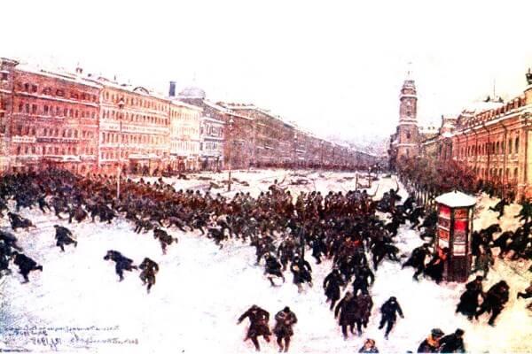cuándo se inicio la revolución rusa
