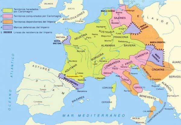 Historia carolingios franceses