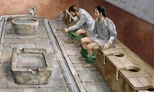 origen del inodoro