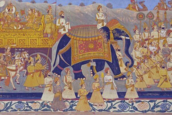 época medieval en India