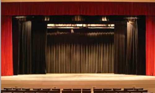 escenario de un teatro