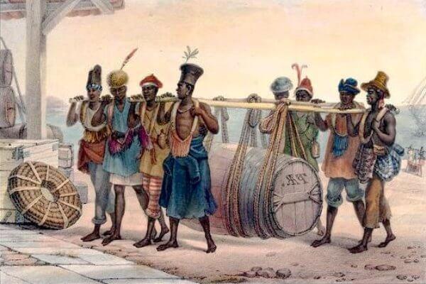 Historia esclavitud en Brasil