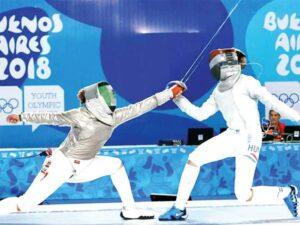 la esgrima en los juegos olímpicos