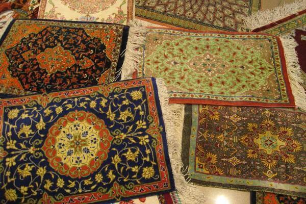 el arte de hacer alfombras