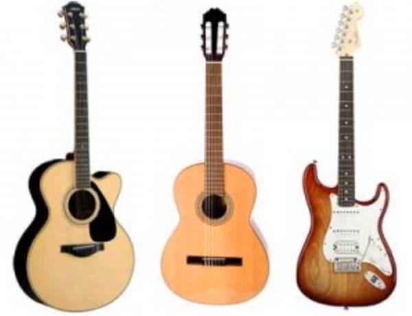 evolución de la guitarra a través del tiempo