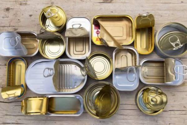 Evolución de la lata de conservas
