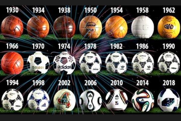 cómo a evolucionado la pelota