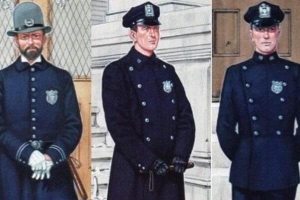 cómo ha sido la evolución del cuerpo de policía