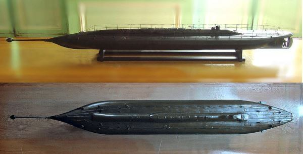 cómo es la evolución del submarino
