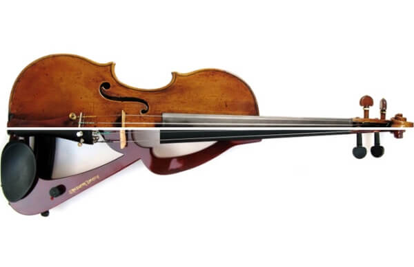 ¿Cómo fue creado el violín?