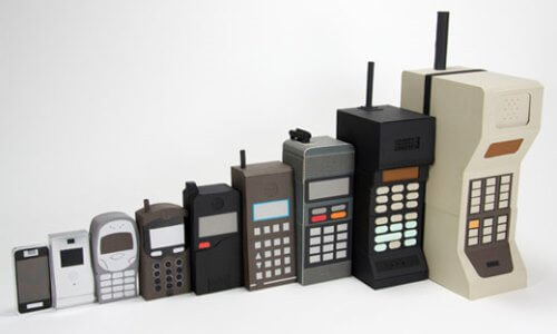 historia del teléfono celular móvil