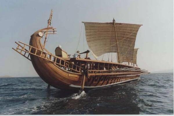 evolución de los veleros