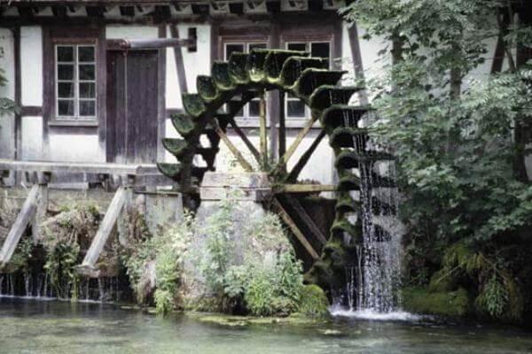 expansión y difusión de los molino de agua