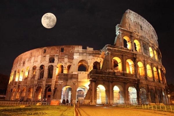 gradas coliseo romano