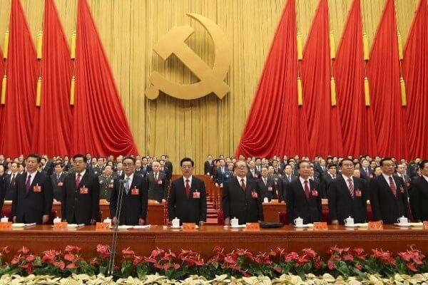 historia del partido comunista Chino