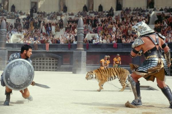 gladiadores coliseo ROMA