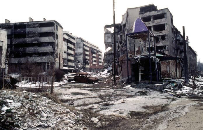 Guerra civil Bosnia