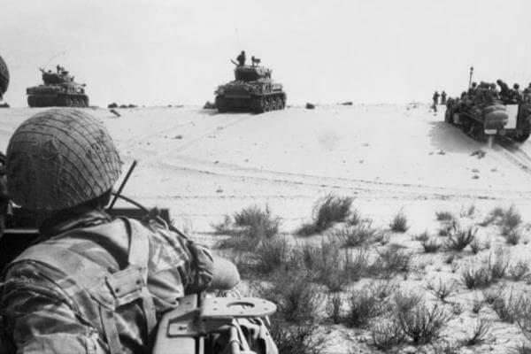 Historia de la guerra de los 6 días