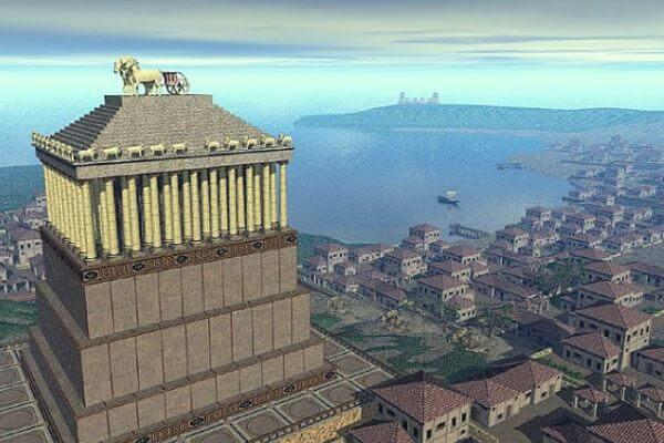 dónde estaba El mausoleo de Halicarnaso