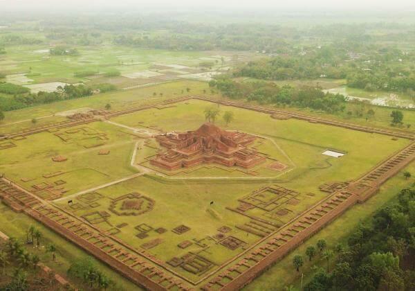 Vihara budista de Paharpur reseña histórica