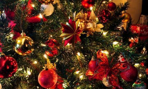 historia adornos arbol de navidad