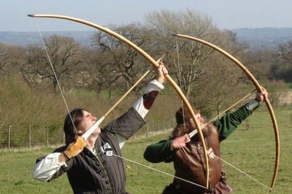 evolución y tipos de arcos y flechas