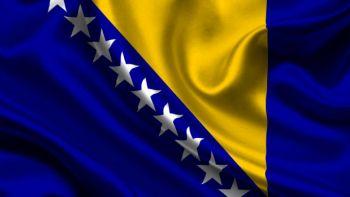creación bandera Bosnia