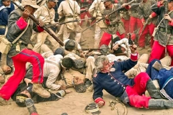 historia guerra civil peruana