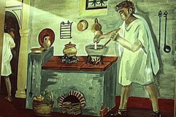 Historia de la cocina en antigua Roma