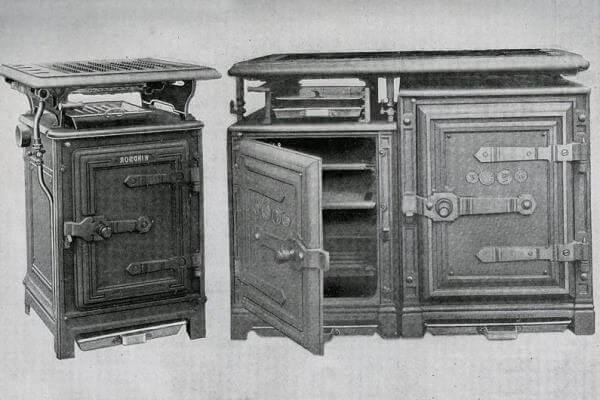 primera cocina de gas