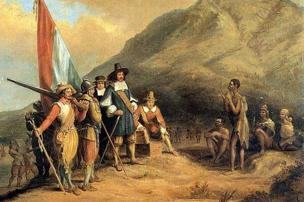 Época colonial Holanda