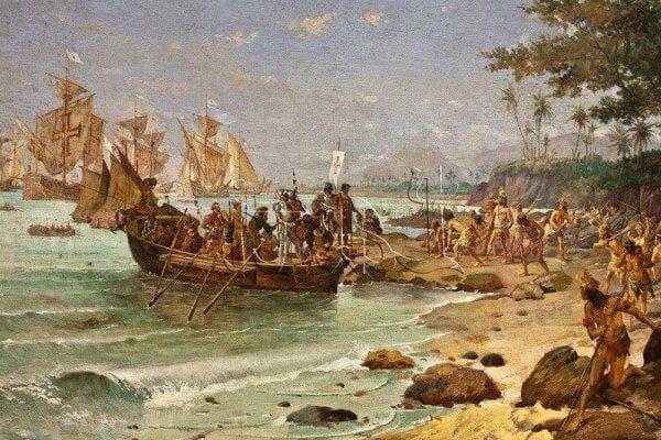 cuándo colonizó Portugal a Brasil