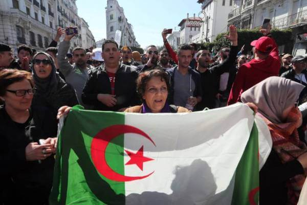historia reciente de Argelia