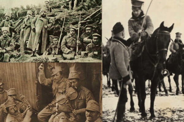 Primera guerra mundial participación Polonia