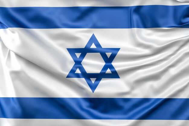 origen de la bandera israeli
