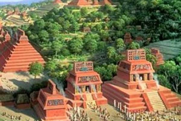 cómo es la ciudad maya bajo tierra de Guatemala