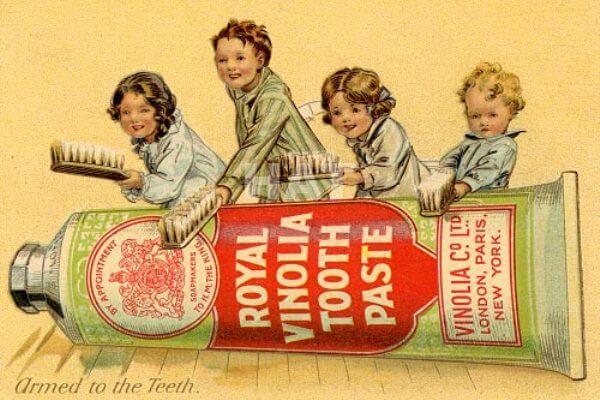 historia de la pasta dental siglo XX