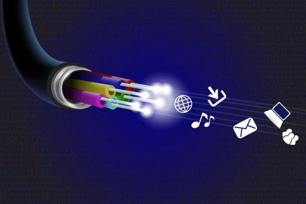 cable de fibra óptica historia