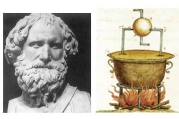 cuál es la historia de la máquina de vapor