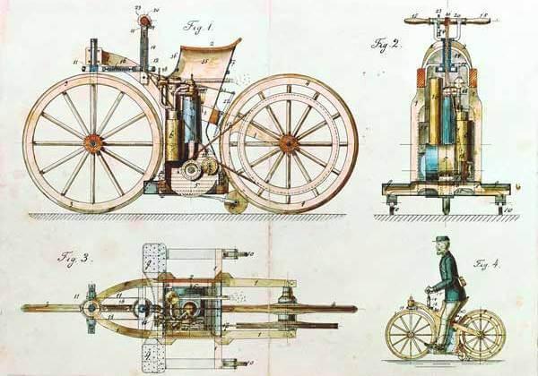 ¿Cuál es el origen de la moto?