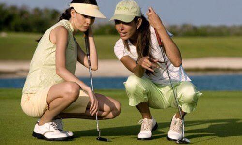 historia de la mujer en el golf