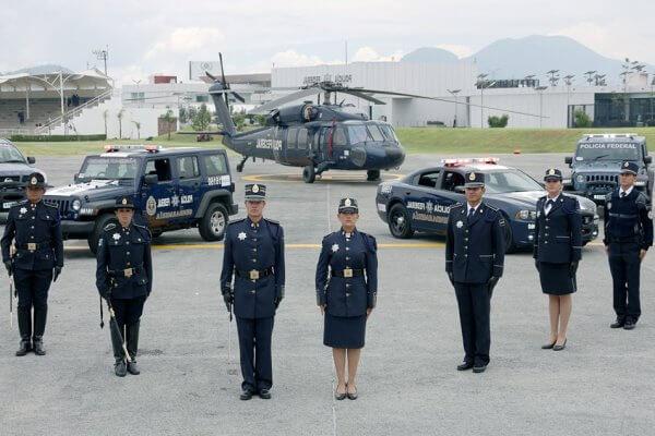 historia y origen del cuerpo de policía de México