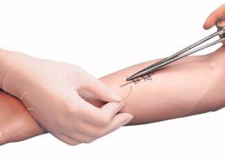 origen e historia de la sutura de heridas