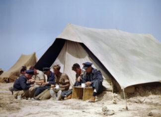 origen e historia de la tienda de campaña