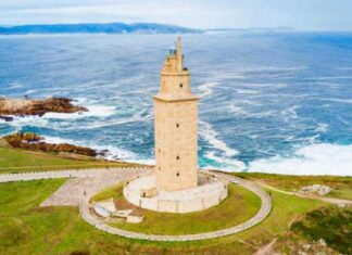 origen e historia de la Torre de Hércules