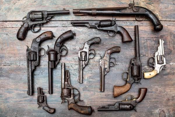 armas de fuego reseña histórica