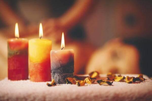 historia de las velas de cera