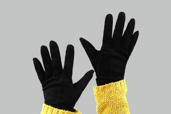 historia de los guantes